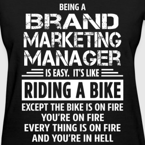 Brand Marketing Manager - Women's T-Shirt