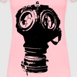 Germany gas mask, Model 1917 - Women's Premium T-Shirt
