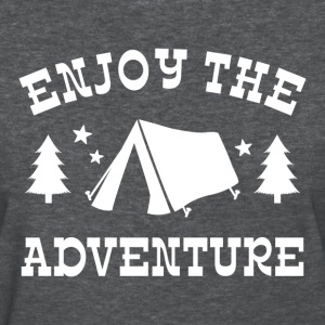 Enjoy The Adventure Tent T-Shirts - Women's T-Shirt