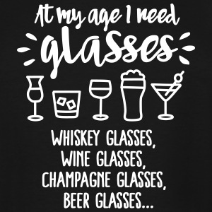 At my age I need glasses... T-Shirts - Men's Tall T-Shirt
