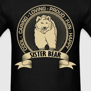Fiercely Protective Sister Bear T-Shirts T-Shirts - Men's T-Shirt
