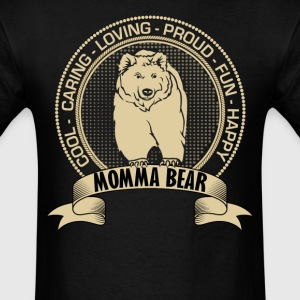 Fiercely Protective Momma Bear T-Shirts - Men's T-Shirt