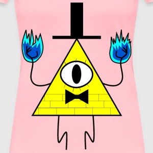 Bill Cipher - Women's Premium T-Shirt