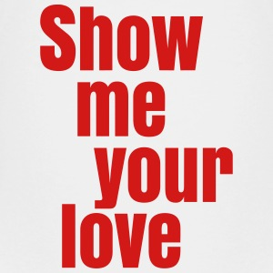 Show me your love Kids' Shirts - Kids' Premium T-Shirt
