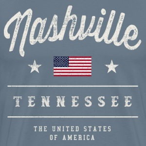 Nashville, USA - Men's Premium T-Shirt