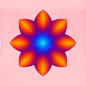 Colourful flower 2 - Women's Premium T-Shirt
