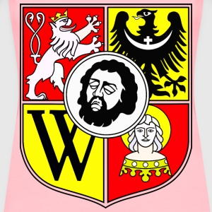 Wroclaw Coat of arms - Women's Premium T-Shirt