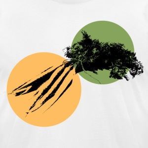 Rabbit Food - Men's T-Shirt by American Apparel