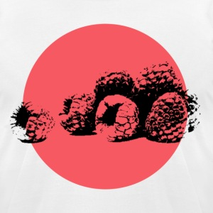 Raspberries Pop Art - Men's T-Shirt by American Apparel