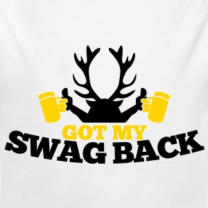 GOT MY SWAG BACK with beers and a stag Baby & Toddler Shirts - Long Sleeve Baby Bodysuit