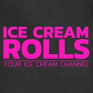 Ice Cream Rolls - Apron - Adjustable Apron
