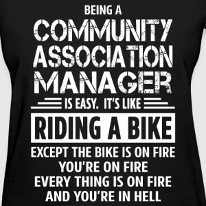 Community Association Manager - Women's T-Shirt