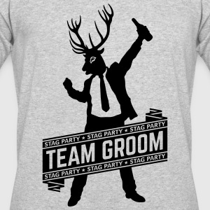 Team Groom / Stag Party (1C) T-Shirts - Men's 50/50 T-Shirt