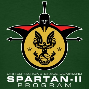 UNSC Spartan-II Program dark mens shirt - Men's T-Shirt