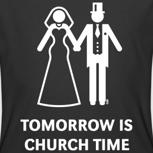 Tomorrow Is Church Time! (Stag Party / Hen Night) T-Shirts - Men's 50/50 T-Shirt