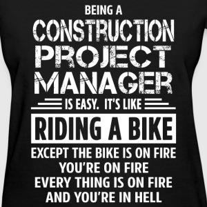 Construction Project Manager - Women's T-Shirt