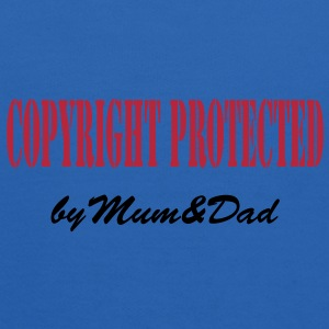 copyright protected by mum and dad Sweatshirts - Kids' Hoodie