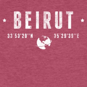 Beirut T-Shirts - Fitted Cotton/Poly T-Shirt by Next Level