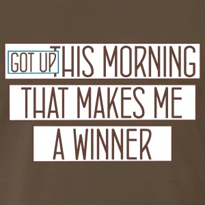 got up this morning_vec_3 us T-Shirts - Men's Premium T-Shirt