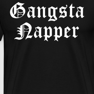 Gangsta Napper T-Shirts - Men's Premium T-Shirt