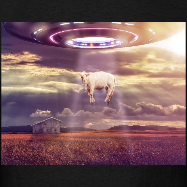UFO Cow Abduct