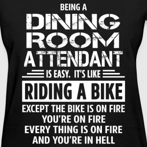Shop dining t shirts online spreadshirt for Dining room attendant