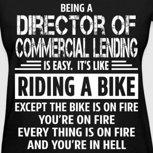 Director of Commercial Lending - Women's T-Shirt