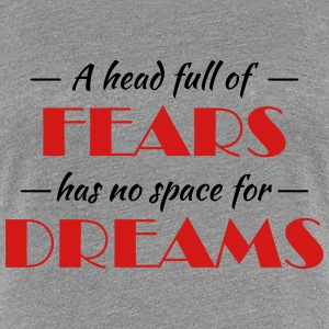 A head full of fears T-Shirts - Women's Premium T-Shirt