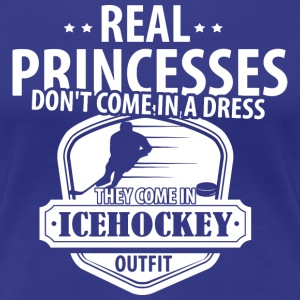 Icehockey Real Princesses  T-Shirts - Women's Premium T-Shirt