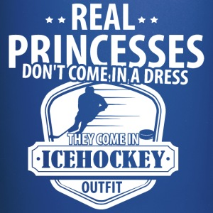 Icehockey Real Princesses  Mugs & Drinkware - Full Color Mug