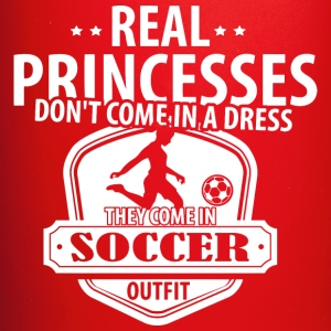 Soccer Real Princesses Mugs & Drinkware - Full Color Mug