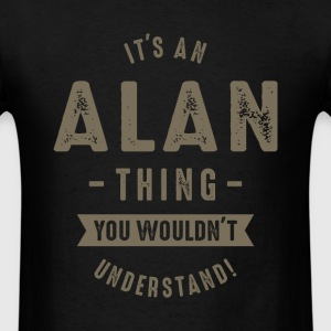Alan Thing - Men's T-Shirt