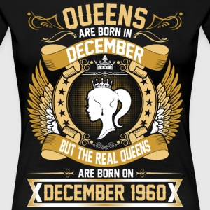 The Real Queens Are Born On December 1950 T-Shirts - Women's Premium T-Shirt