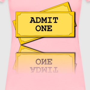 movie tickets - Women's Premium T-Shirt