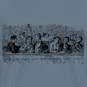 the church choir - Men's Premium T-Shirt