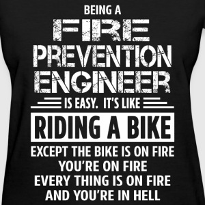 Fire Prevention Engineer - Women's T-Shirt