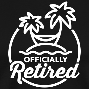 Officially retired T-Shirts - Men's Premium T-Shirt