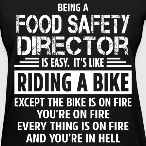 Food Safety Director - Women's T-Shirt
