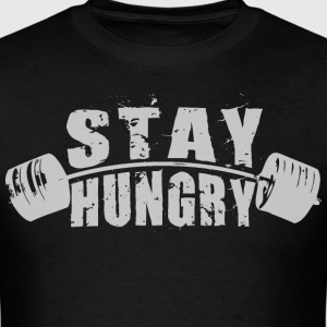Stay Hungry - Barbell T-Shirts - Men's T-Shirt