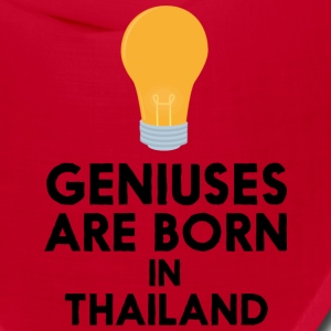 Geniuses are born in THAILAND S256x Caps - Bandana