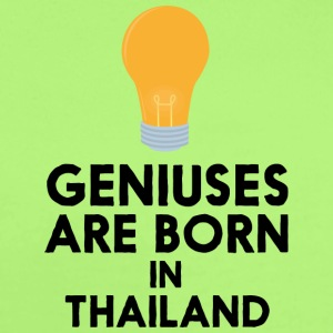 Geniuses are born in THAILAND S256x Baby Bodysuits - Short Sleeve Baby Bodysuit