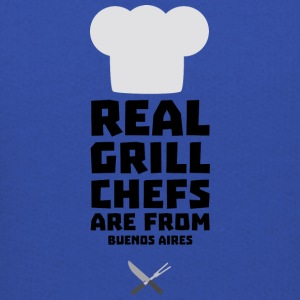 Real Grill Chefs are from Buenos Aires S533t Sweatshirts - Kids' Premium Hoodie
