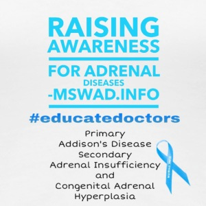 Raise Adrenal Awareness - Women's Premium T-Shirt