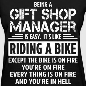 Gift Shop Manager - Women's T-Shirt