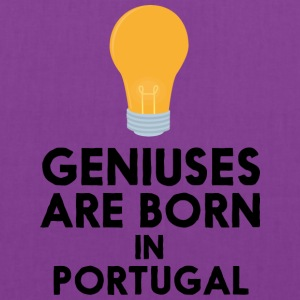 Geniuses are born in PORTUGAL S2ay2 Bags & backpacks - Tote Bag