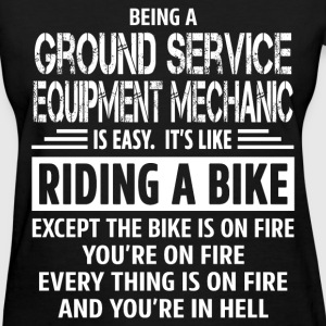 Ground Service Equipment Mechanic - Women's T-Shirt