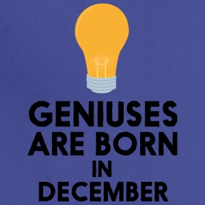 Geniuses are born in DECEMBER Sx57j Aprons - Adjustable Apron