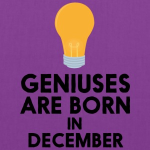 Geniuses are born in DECEMBER Sx57j Bags & backpacks - Tote Bag