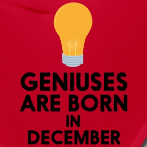 Geniuses are born in DECEMBER Sx57j Caps - Bandana