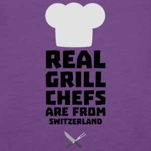 Real Grill Chefs are from Switzerland S0wny Tanks - Women's Premium Tank Top